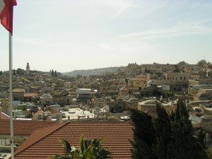 Jerusalem from on high
