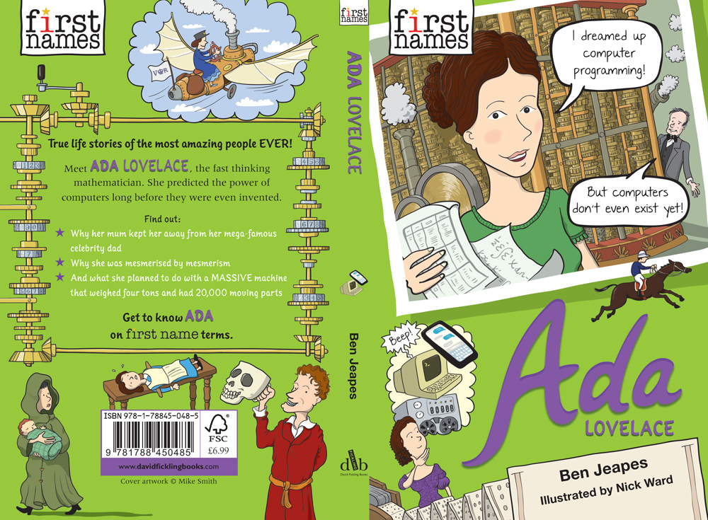 First Names: Ada Lovelace | Ben Jeapes